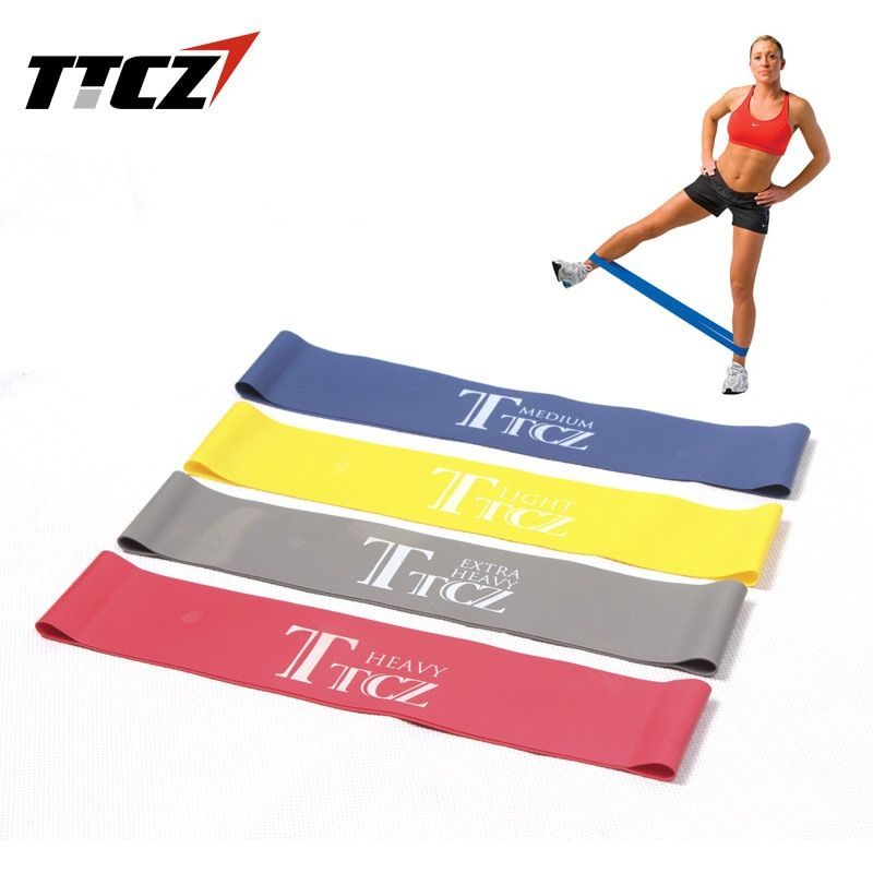 4378a7eaee4 Elastic Band Yoga Pilates Resistance Bands Exercise Loop Rubber Bands  Fitness Loop rope Stretch Crossfit band