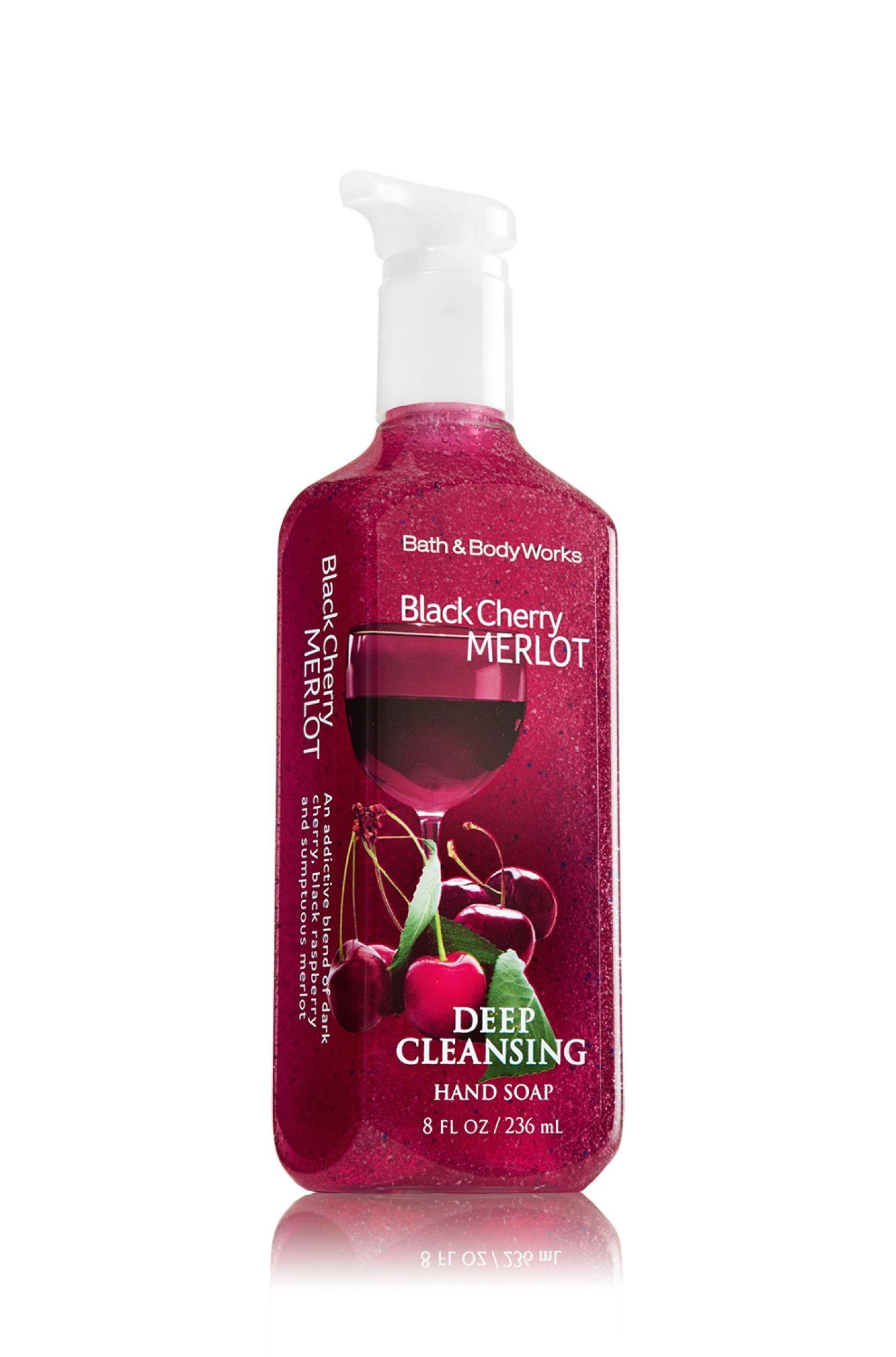 Black Cherry Merlot Deep Cleansing Hand Soap Soap Sanitizer