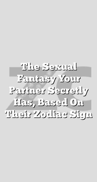 Virgo sexual fantasies