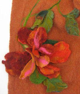 Flea Fair Felt Projects Felting Projects Felted Wool Crafts Felt Flowers