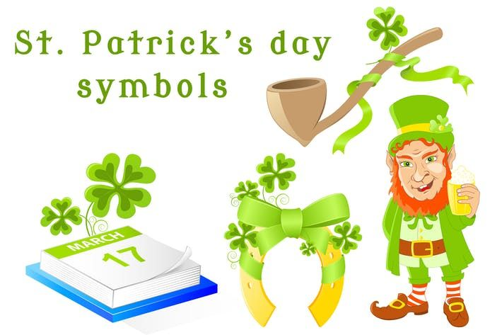 St Patricks Day Symbols Festival Ireland Download Here Http