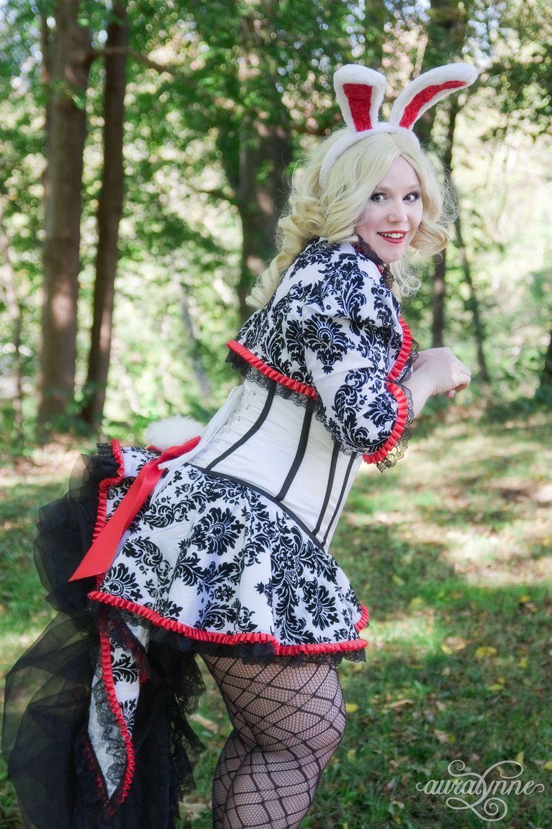 White Rabbit Costume – Alice In Wonderland auralynne