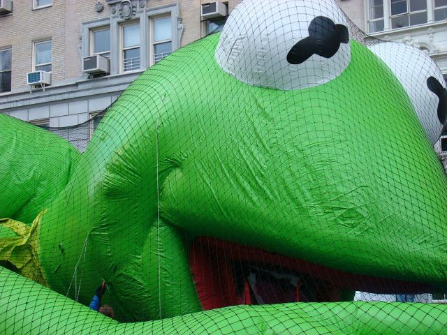Macy's Thanksgiving Day Parade Inflatables via ART & INSPIRATION