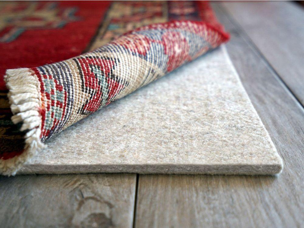 Eco plush 14 rug pad sound proofing area rug pad