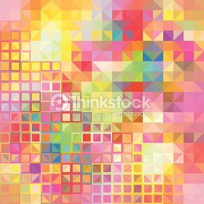 Clipart vectoriel : Colorful geometric background with stylish colors
