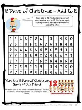 Christmas Math, Games, Puzzles and Brain Teasers is a 'Top Ten ...