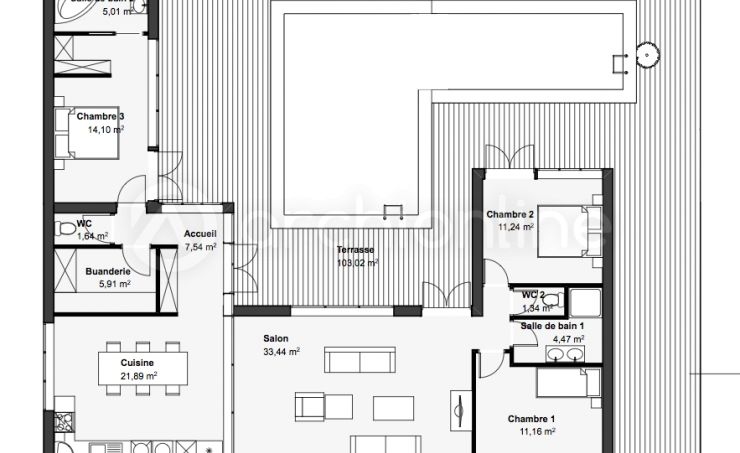 Maison Sapois  une maison Moderne conçue par l\u0027architecte François