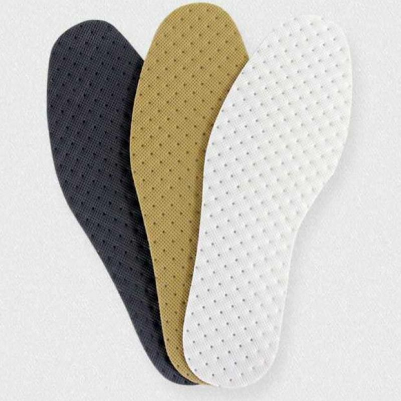 2017 New Breathable Shoe Insoles Absorbent thin Foot Pad Antiskid Medicine Insoles Deodorizing Accessories Para Zapatos 6 Pairs