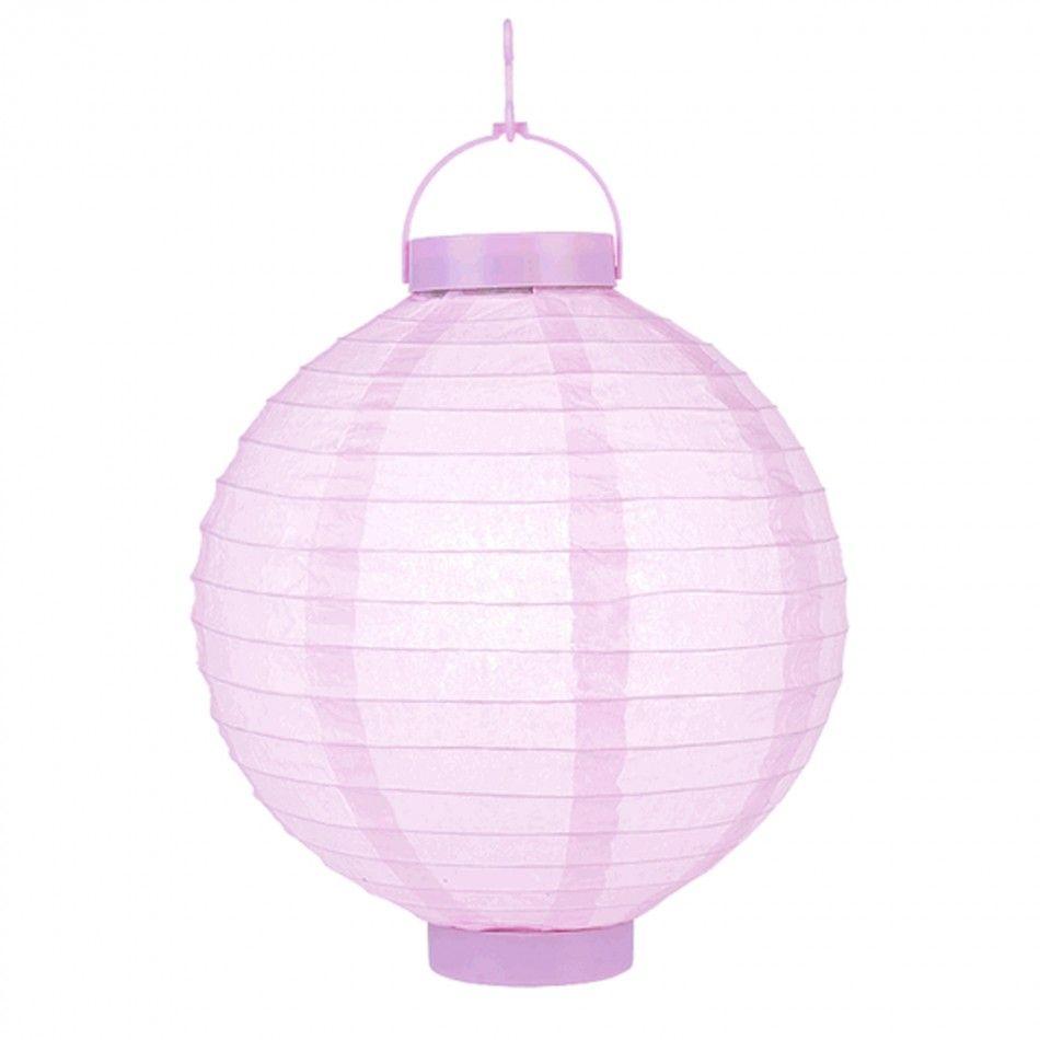 8 Battery Paper Lantern - Light Pink [SKU217 Battery Operated ...