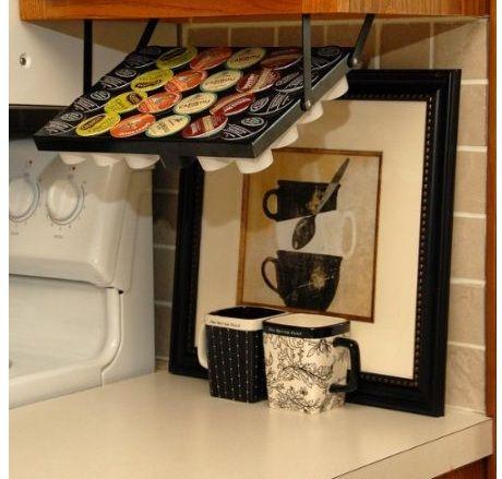 Under Cabinet K-Cup® Holder I want that! Pinterest - fliesenspiegel küche selber machen
