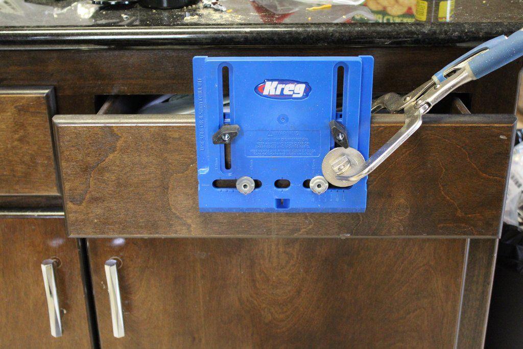 Installing kitchen hardware installing kitchen