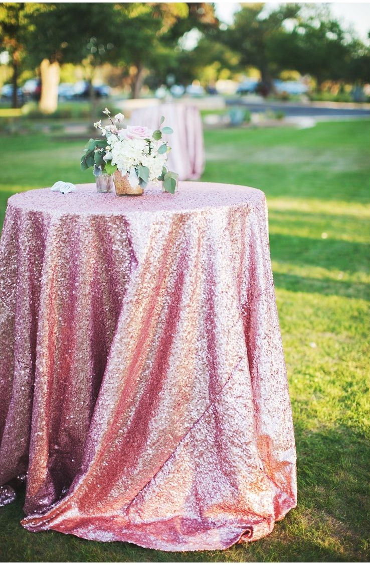 This pink shimmery linen on the Great Lawn is to die for!