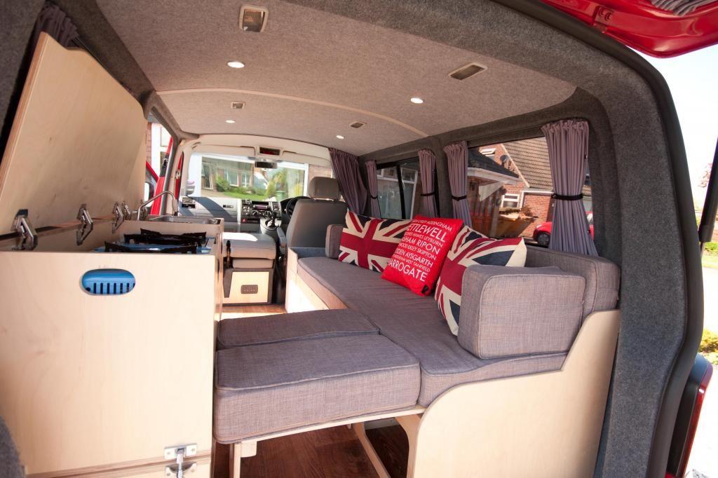diy camper the vw way pistonheads t5 pinterest campingbus camper und wohnwagen. Black Bedroom Furniture Sets. Home Design Ideas