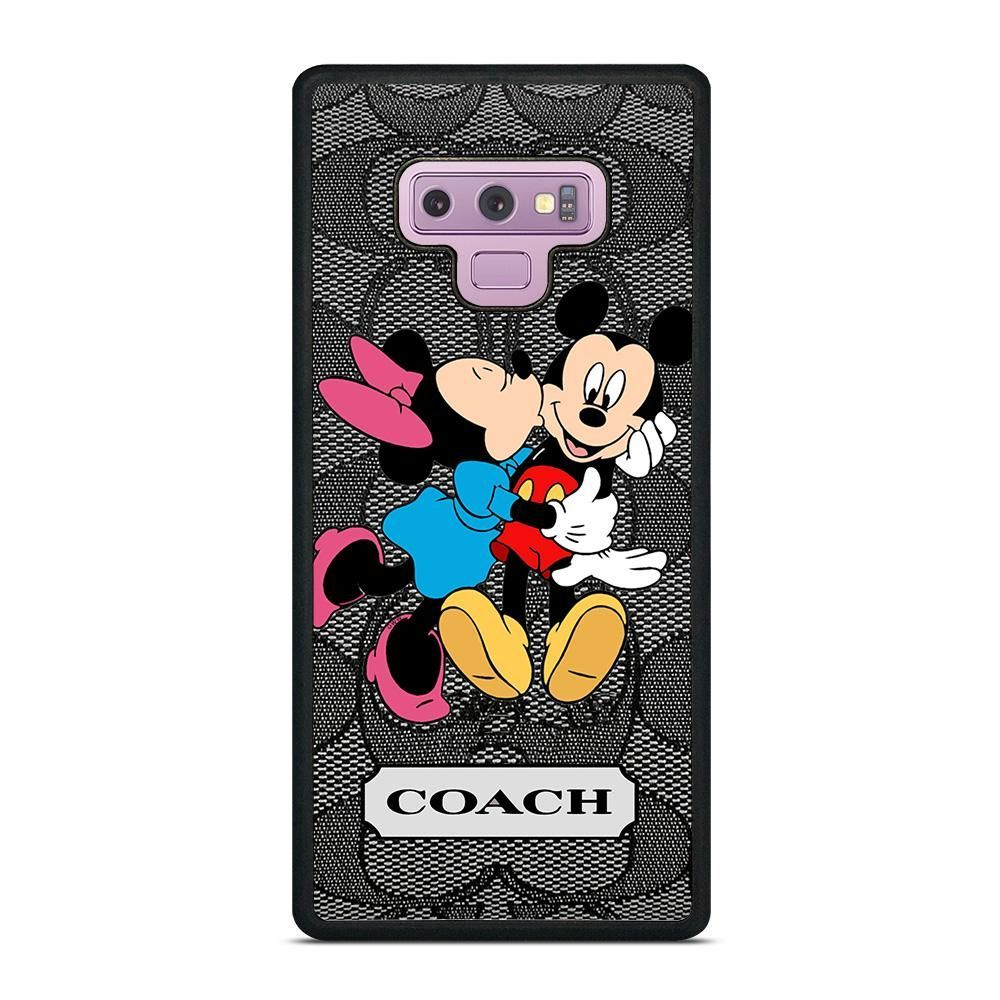 COACH MINNIE MICKEY MOUSE KISS Samsung Galaxy Note 9 Case Cover - Case