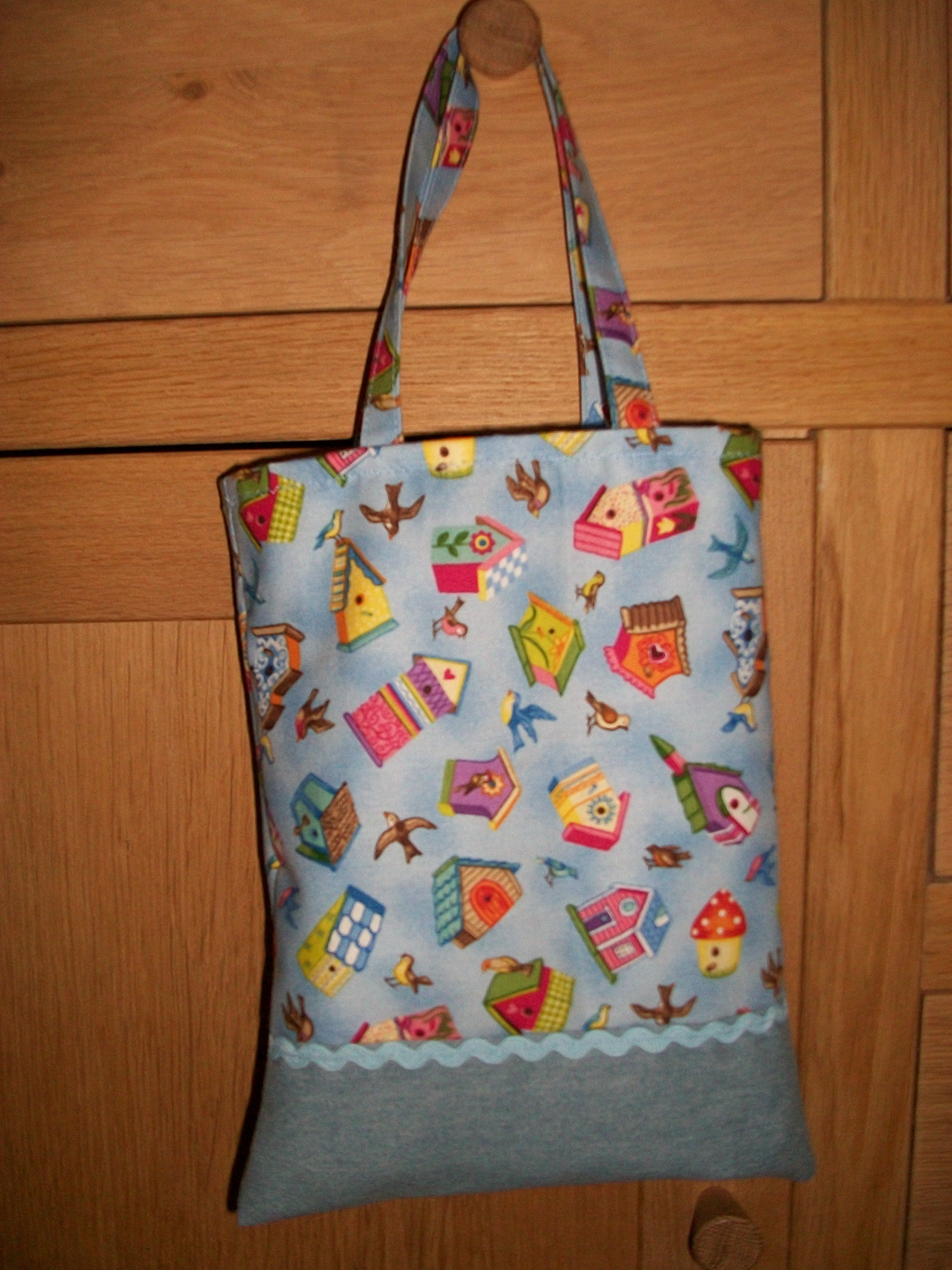 """Lined 8"""" tote for little hands!!"""