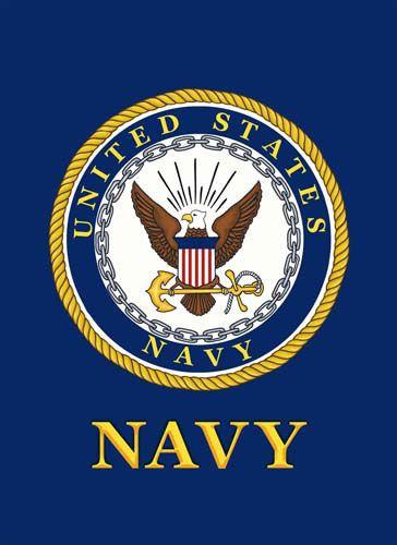 Custom Decor Flag Us Navy Navy Veteran United States