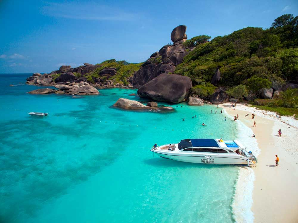 Similan Islands The best mix of white beaches snorkelling and view