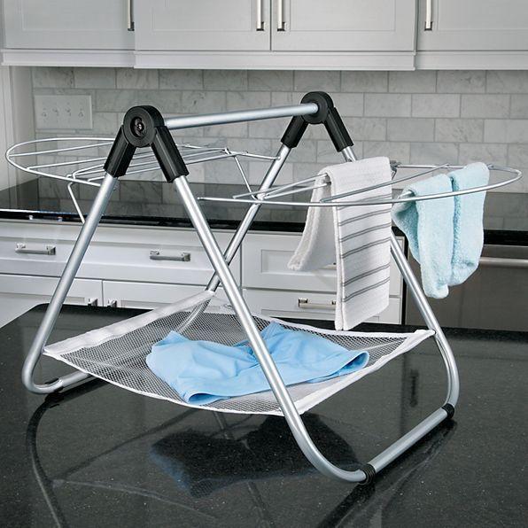 portable folding clothes hanger