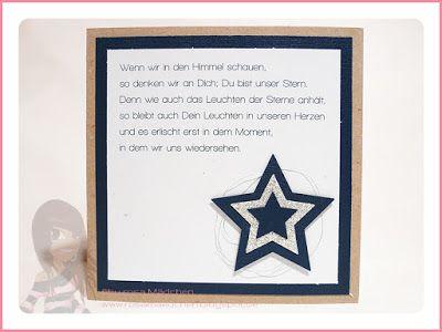 trauernder stern trauerkarte spr che trauer und. Black Bedroom Furniture Sets. Home Design Ideas