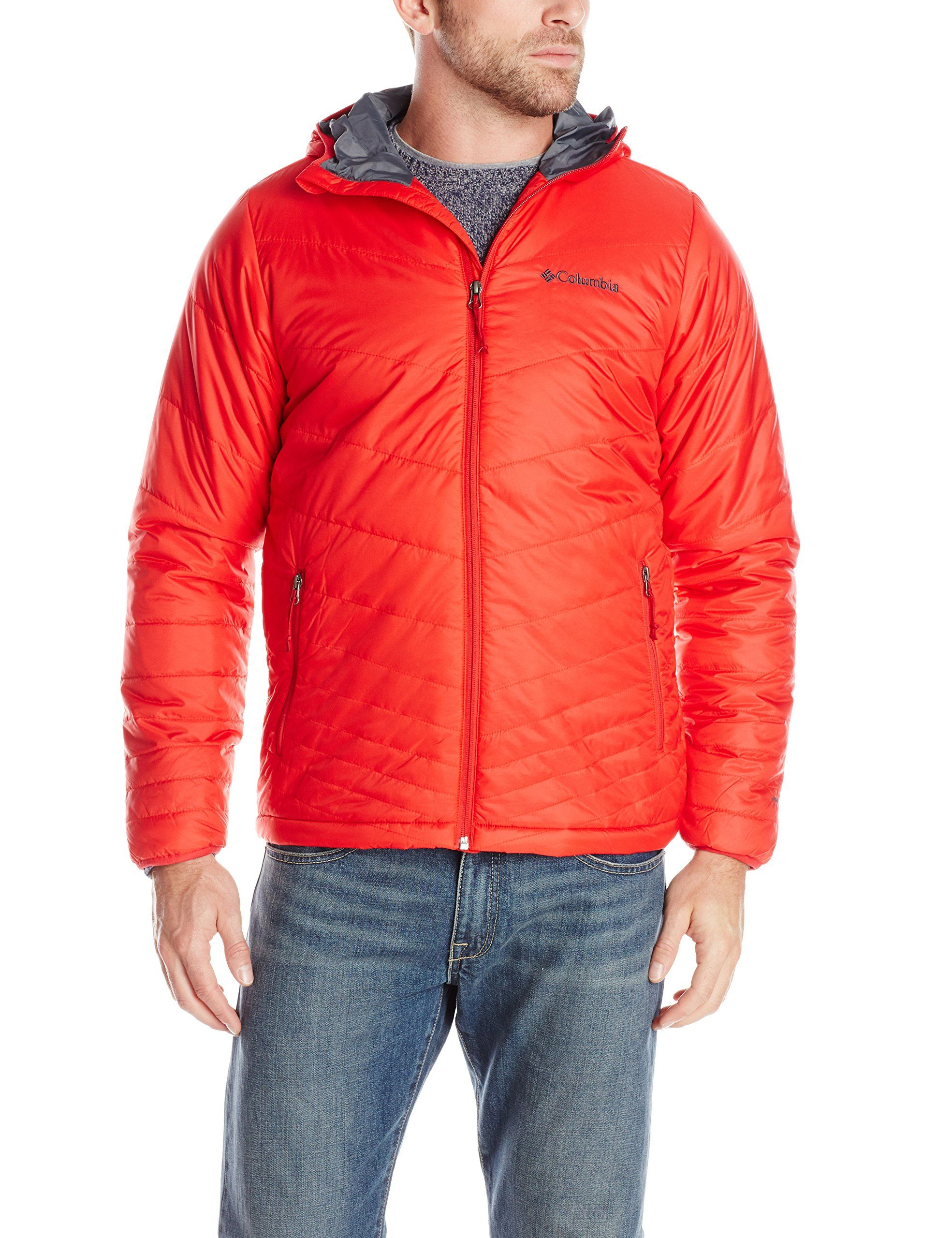 Cover Columbia Sportswear Men's Mighty Light Hooded