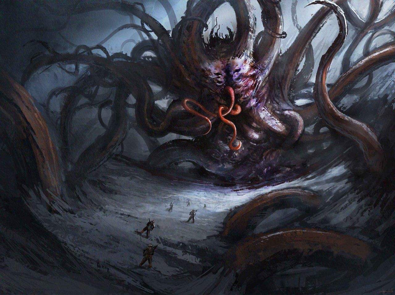 shoggoth - Buscar con Google | Lovecraft art, Lovecraftian horror, Cthulhu