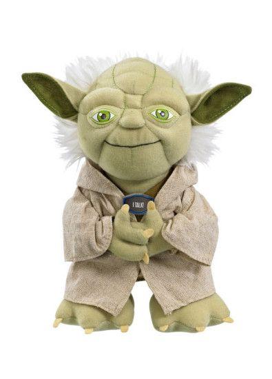 Der Plüsch-Yoda als Herz der Star Wars Windeltorte ist so toll, dass wir ihn auch haben wollen. Wie Ihr die ganze Windeltorte basteln könnt, erfahrt Ihr hier.