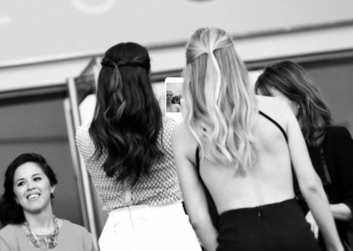 Pin for Later: Il N'y a Rien de Plus Glamour Que le Festival de Cannes en Noir et Blanc  Eva Longoria et Doutzen Kroes