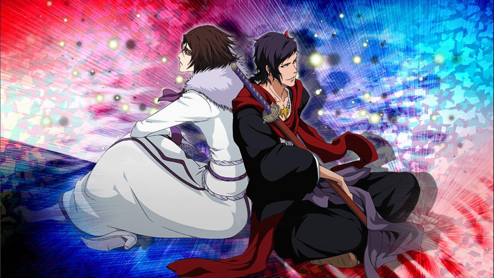 Koga & Muramasa   Bleach anime, Bleach fanart, Bleach (anime)