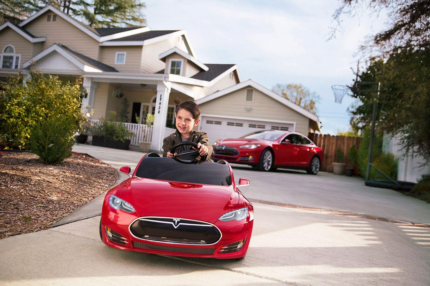 Tesla Model S For Kids By Radio Flyer Tesla Model S Tesla Model Tesla
