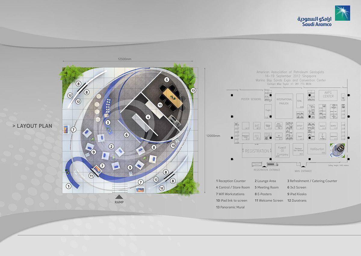Aramco Overseas Company Bv Aapg2012 On Behance Tasarim