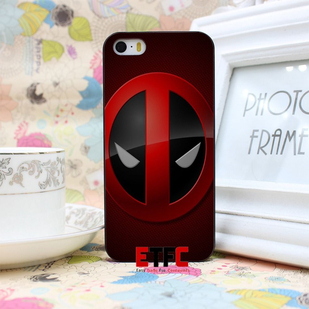 marvel deadpool logo wallchips New Fashion Design Hard Black Skin for iPhone 5 5s 5g Case Cover iPhone Hrvatska - Najbolja online kupovina za vas !   iPhone.hr