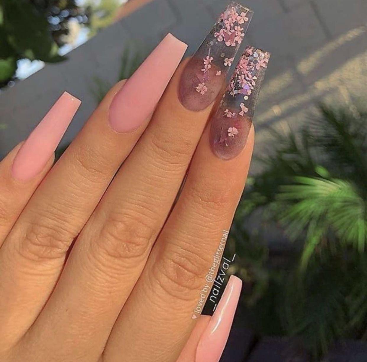Pin By Lidia Kabacinska On Nails In 2020 Dlugie Paznokcie