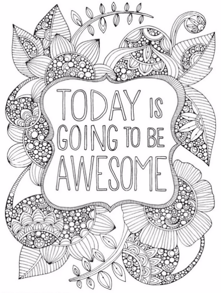 30 Totally Awesome Free Adult Coloring Pages Free Adult Coloring Pages Quote Coloring Pages Coloring Pages