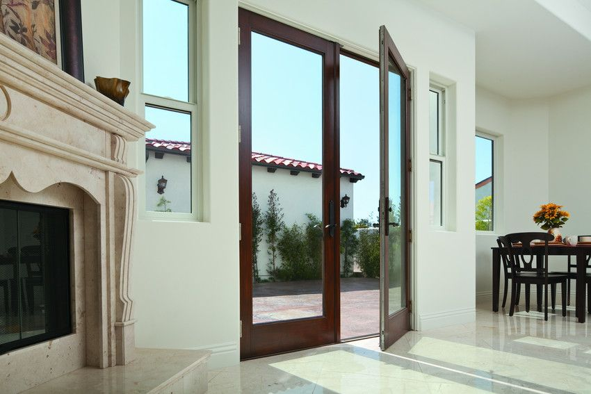 Wood Andersen A Series 1 Lite Inswing French Doors Patio Doors
