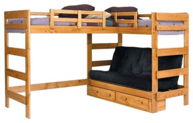 Custom Designed Loft Bed With Two Sofa Chairs Google Search