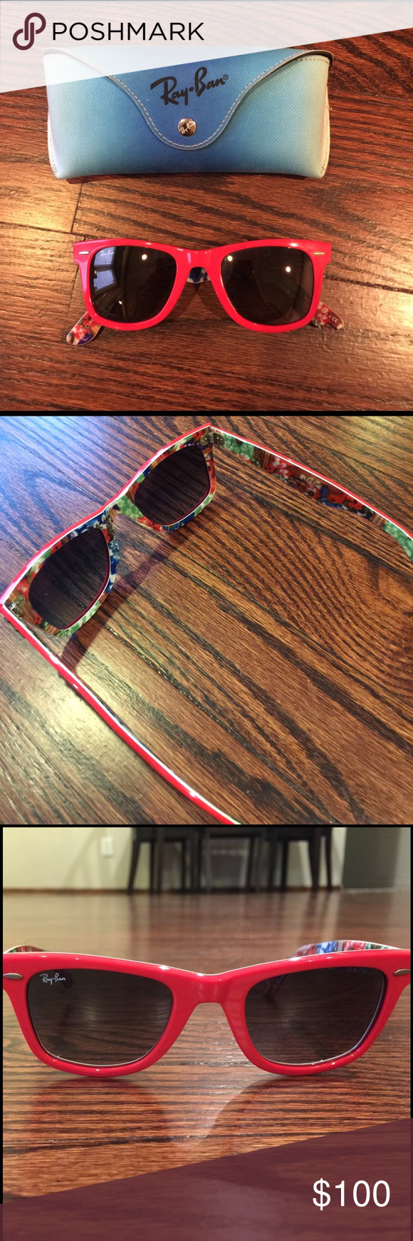 27a336133c ... authentic ray ban wayfarer sunglasses rb2140 ray ban sunglasses worn  only a handful of times aa62a ...