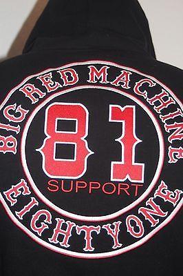 support 81 big red machine kapuzenjacke zipper jacke m 4. Black Bedroom Furniture Sets. Home Design Ideas
