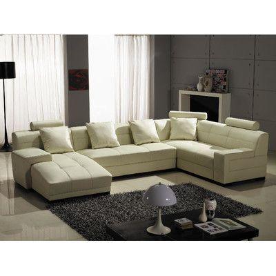 Hokku Designs Houston Sectional Upholstery Modular Sectional