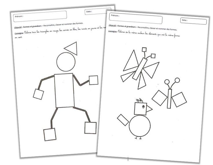 Favori Formes et Grandeurs - Les formes géométriques | Math and Language KX03