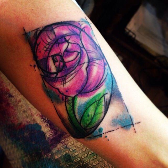Fibonacci Spiral Rose Tattoo Mine Tattoos Rose Tattoo