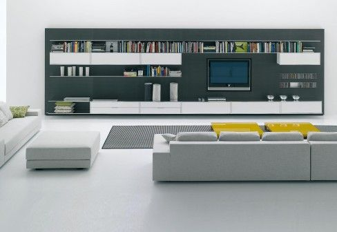 Minimalistic wall panel system from mdfitalia also home  design