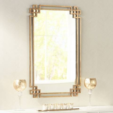 Uttermost Devoll Gold 23 Quot X 36 3 4 Quot Rectangular Wall
