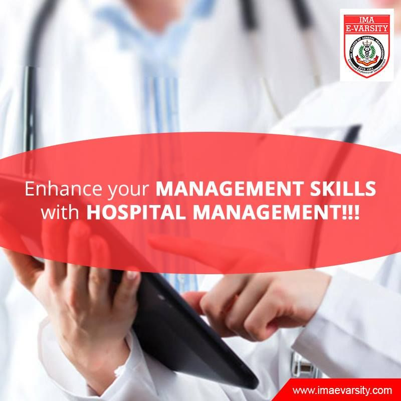 Advanced diploma in hospital management acquaints students with some of the core areas relating to healthcare with emphasis on Finance, Human Resources, Marketing etc.,