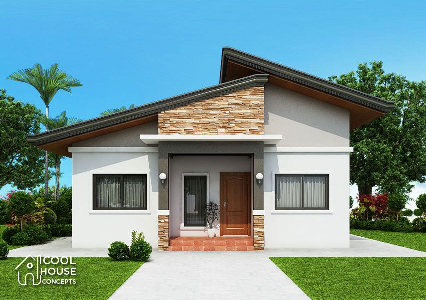 Dreaming To Own A 3 Bedroom Bungalow House The Answer Is Here The Floor Plan Consists Of 3 Bedr Modern Bungalow House Bungalow House Design Bungalow Exterior