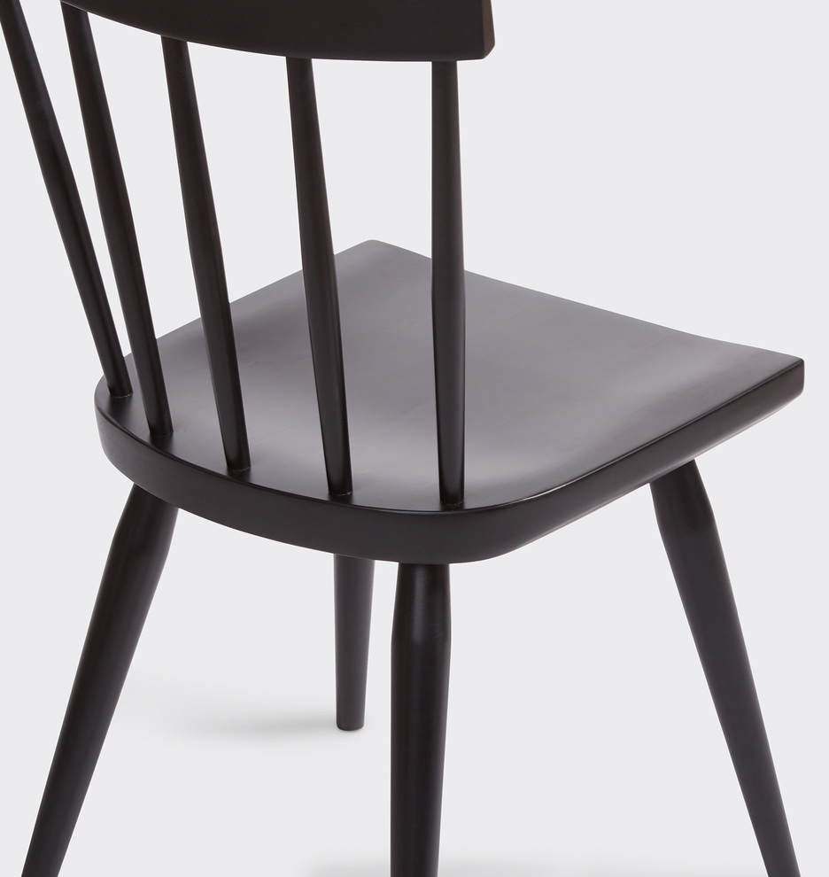 Weatherby Black Ash Side Chair (With Images)