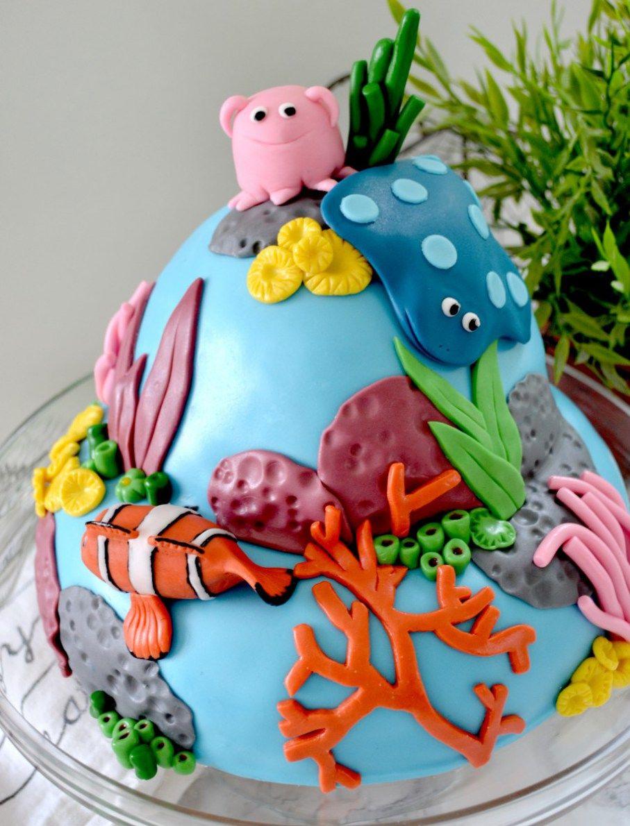 Findet Nemo Torte auf Selbstgemacht | Essen & Trinken | Pinterest ...