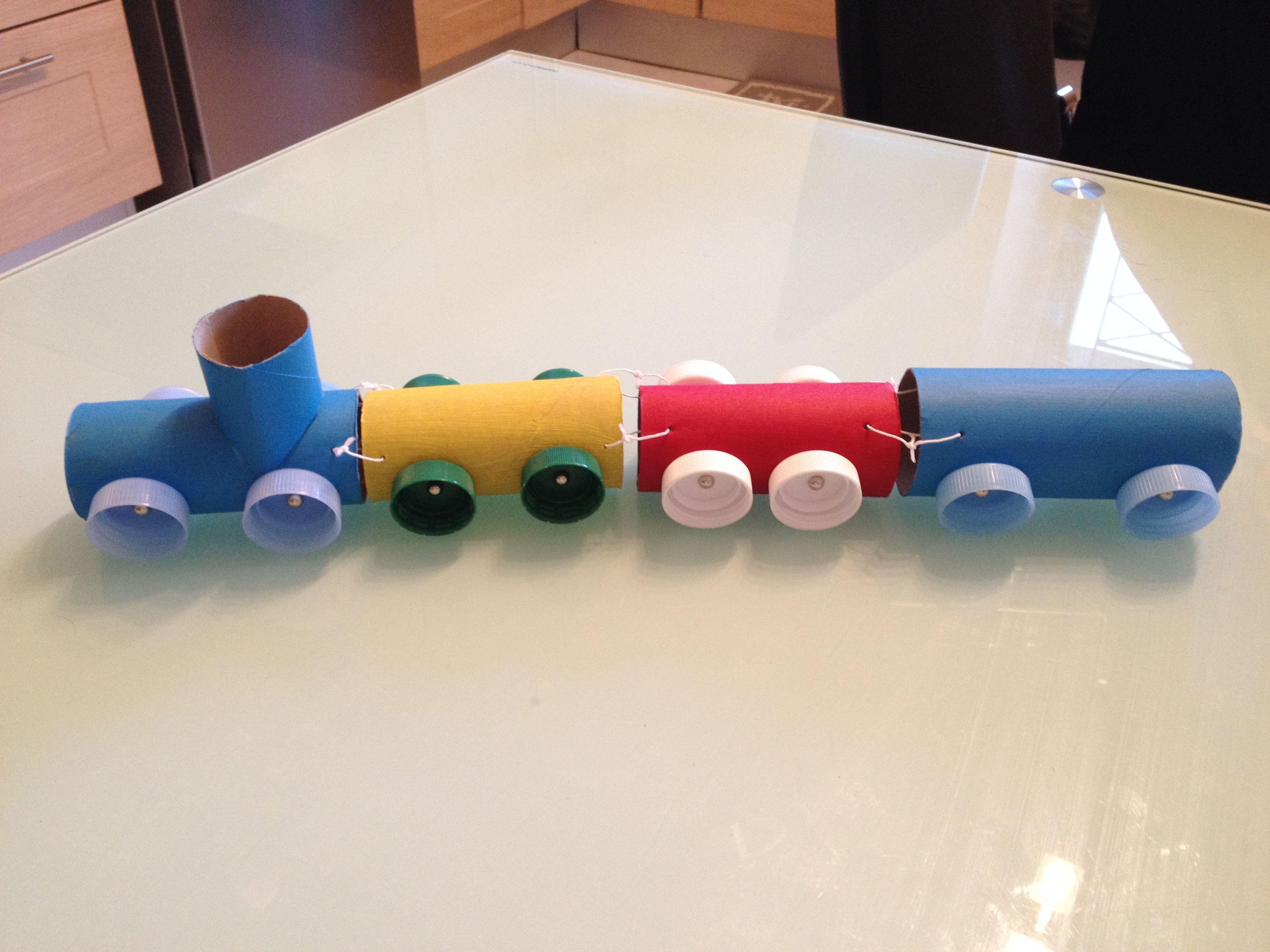 °*DIY*° Un petit train récup ⋆ So Mummy