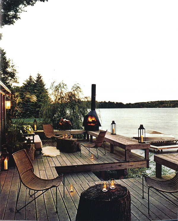 Terraza Junto Al Lago The Great Outdoors House Design