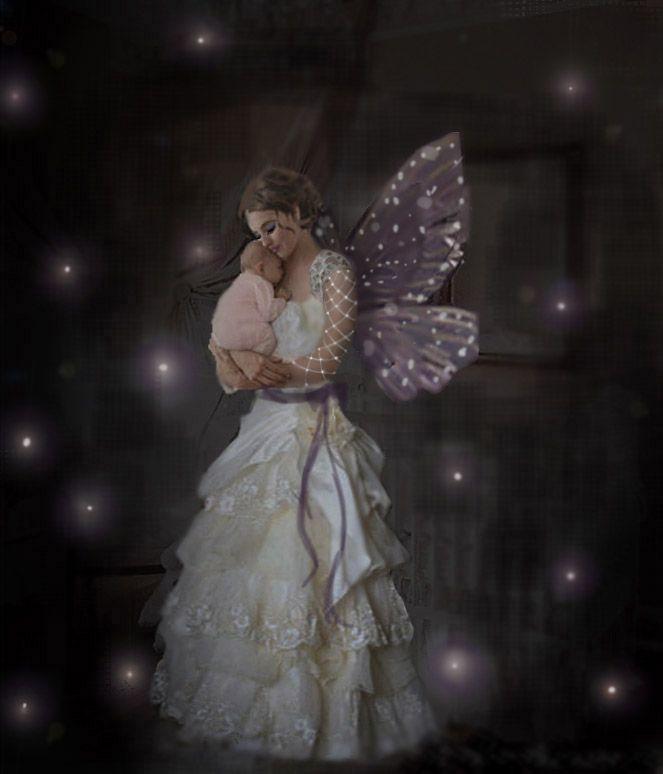 The Fairy Godmother Beautiful Fairies Baby Fairy Fairy Art