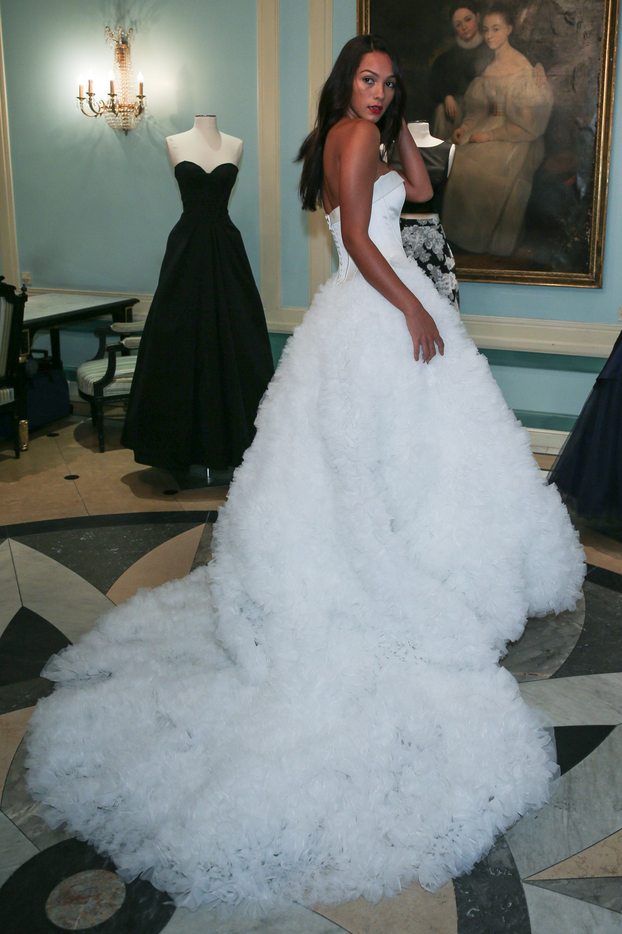 Zac posen wedding dress  The Trendiest and Most Stunning Wedding Dresses Coming This Spring